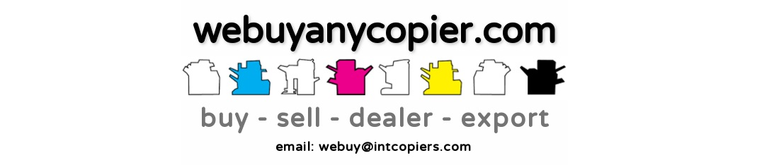 We Buy Any Copier